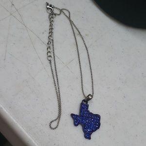 Jewelry - Blue Texas necklace